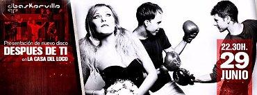 BASKERVILLE presentan disco en La Casa del Loco (ZARAGOZA)